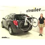 Yakima  Trunk Bike Racks Review - 2016 Chevrolet Equinox