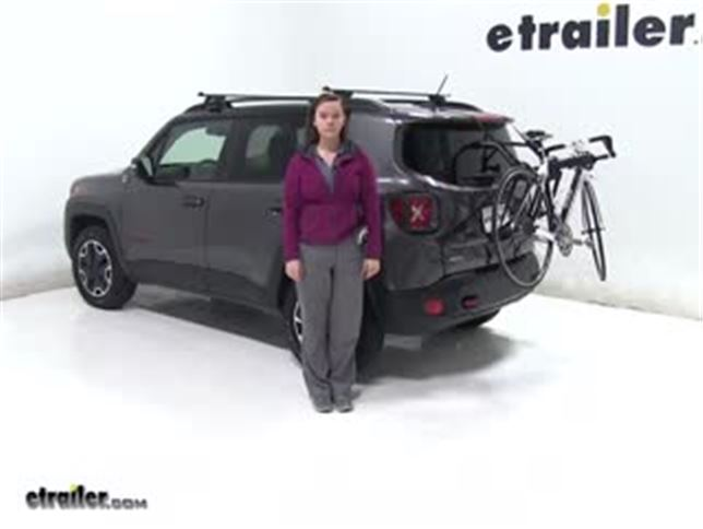Bike Rack For Jeep Renegade >> Yakima Trunk Bike Racks Review 2016 Jeep Renegade Video Etrailer Com