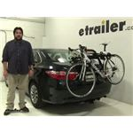 Yakima  Trunk Bike Racks Review - 2016 Toyota Camry