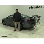 Yakima  Trunk Bike Racks Review - 2016 Volkswagen Jetta
