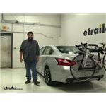 Yakima  Trunk Bike Racks Review - 2017 Nissan Altima