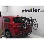 Yakima  Trunk Bike Racks Review - 2018 Mitsubishi Outlander Sport