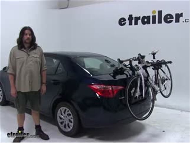 Yakima Trunk Bike Racks Review 2018 Toyota Corolla Video Etrailer