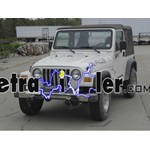 Trailer Wiring Harness Installation - 1999 Jeep Wrangler