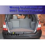 Trailer Wiring Harness Installation - 2007 Subaru Forester