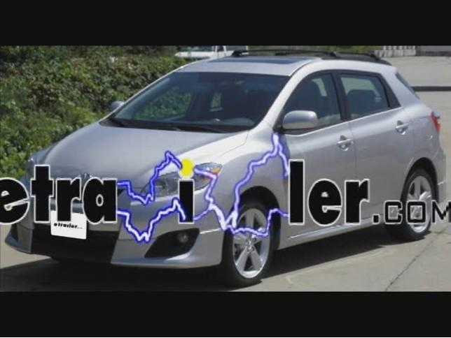 Toyota matrix custom fit vehicle wiring tekonsha