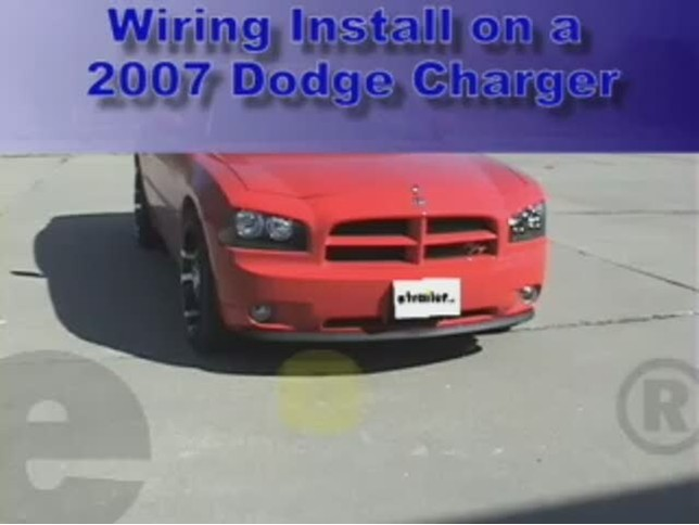 wiring_install_2007_dodge_charger_644 trailer wiring harness installation 2007 dodge charger video 2007 dodge charger engine wiring harness at nearapp.co