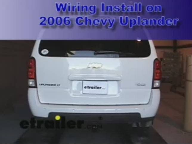 wiring_install_chevy_uplander_2006_644 trailer wiring harness installation 2006 chevy uplander video  at mifinder.co