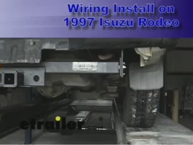 wiring_isuzu_rodeo_1997_644 trailer wiring harness installation 1997 isuzu rodeo video 1999 Isuzu Rodeo at gsmx.co