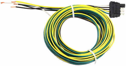 002220_15_500 wesbar 4 way flat trailer wiring harness 20' long wesbar wiring wesbar wiring harness at n-0.co