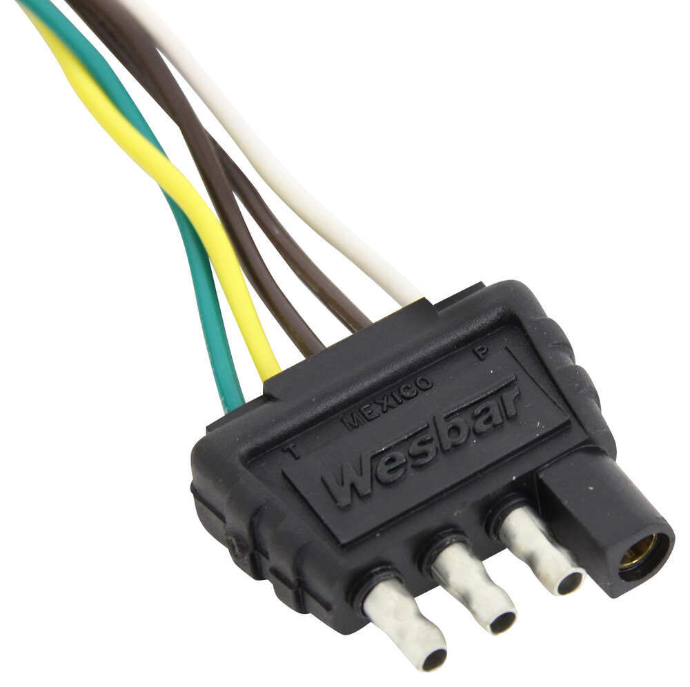 4 pin flat trailer wiring harness