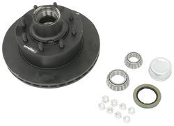 "Dexter 12-1/4"" Hub-and-Rotor Assembly - Grease - 8 on 6-1/2 - E-Coat - 1/2"" Bolts - 7K"