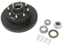 "Dexter 12-1/4"" Hub-and-Rotor Assembly - Grease - 8 on 6-1/2 - E-Coat - 9/16"" Bolts - 7K"