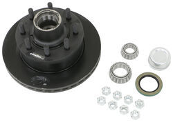 "Dexter 12-1/4"" Hub-and-Rotor Assembly - Grease - 8 on 6-1/2 - E-Coat - 5/8"" Bolts - 7K"