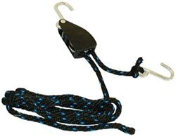 "Erickson Tie-Down Rope w/ Ratchet - 3/8"" x 8' - 250 lbs"