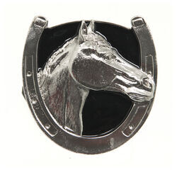 "Lucky Horse 2"" Trailer Hitch Receiver Cover"