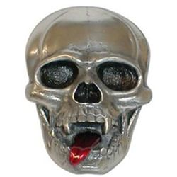 Skull-e-Tongue Trailer Hitch Receiver Cover