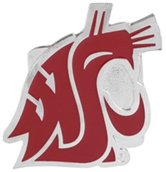 "Washington State Cougars Trailer Hitch Cover for 2"" Trailer Hitches"