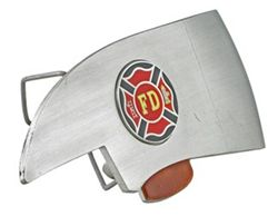 "Firefighter's Axe Trailer Hitch Cover for 2"" Trailer Hitches"