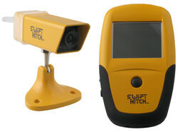 Swift Hitch Wireless Hitch Alignment Camera and Monitor - Night Vision - 4-Hour Camera Battery