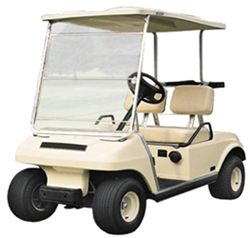 Classic Accessories Portable Golf Cart Windshield - Clear