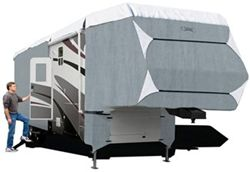 Classic Accessories PolyPro III Deluxe Extra Tall 5th Wheel Cover - Model 5 33'-37'