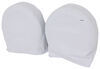 "Classic Accessories RV Wheel Covers - Model 3 29""- 31-3/4"" Snow White"
