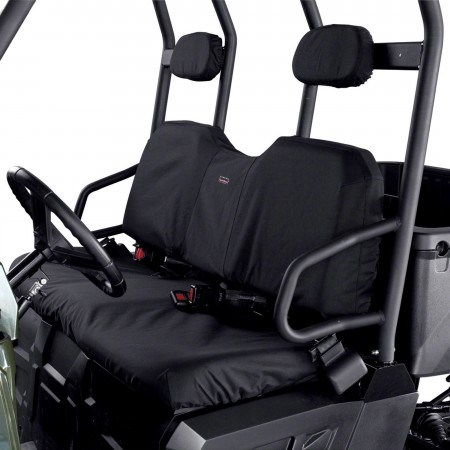 Black 2012 Polaris Ranger 500 Crew Utility Vehicle UTV Bench Seat Cover
