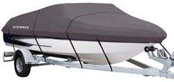 "Classic Accessories Boat Cover by StormPro - 17' - 19' (beam width 102"")"