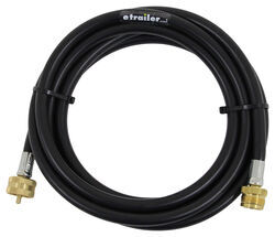 MB Sturgis Propane Adapter Hose for Small Appliance - Disposable Cylinder Ports - 12'