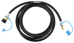 MB Sturgis Dual Quick Disconnect Propane Hose for Small Appliance - 10'