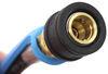 mb sturgis propane adapter hoses 1/4 inch - male qd 100395-72-mbs