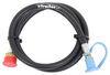 mb sturgis propane adapter hoses 1/4 inch - male qd