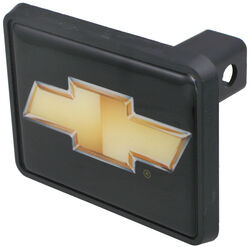 "Chevrolet - Gold Bowtie Trailer Hitch Receiver Cover for 1-1/4"" Trailer Hitches"