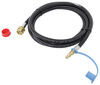 mb sturgis propane adapter fittings 1/4 inch - male qd 103539-mbs