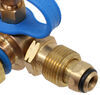 mb sturgis propane hoses tees 1 inch-20 - male 1/4 inch fif mif