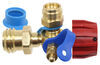 "MB Sturgis Sturgi-Stay T-Fitting for Type 1 Valve - 1/4"" FIF and Disposable Cylinder Ports"