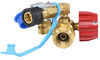 mb sturgis propane tees sturgi-stay t-fitting for type 1 valve - quick disconnect and disposable cylinder ports