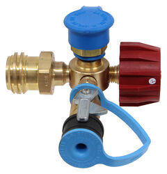 MB Sturgis Sturgi-Stay T-Fitting for Type 1 Valve - Quick Disconnect and Disposable Cylinder Ports