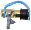 mb sturgis propane adapter fittings 1/4 inch - male npt female qd quick disconnect kit for low pressure appliances