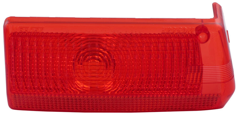 Replacement Driver-Side Red Lens for Wrap Around Clearance Light - Qty 1 Red 105825