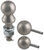 convert-a-ball hitch ball trailer 1-7/8 inch diameter 2 2-5/16 interchangeable set - 3 balls 1 xl shank nickel