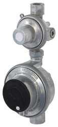 "MB Sturgis Vertical 2-Stage Propane Regulator - 11"" Water Column Outlet"
