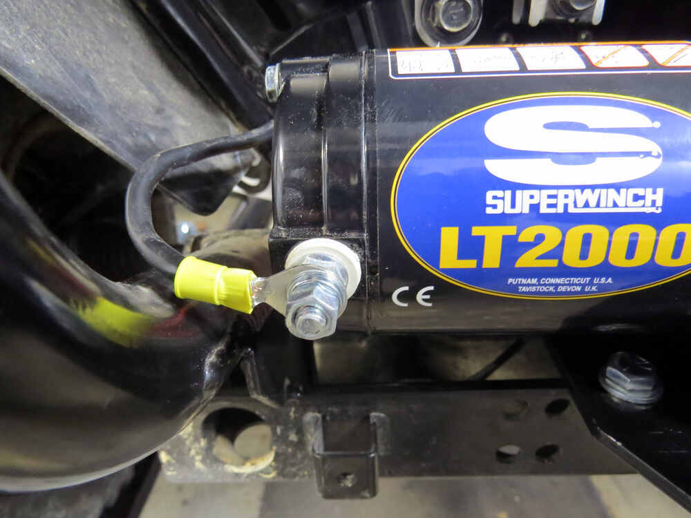 Lt2000 Winch Wiring And Installation On 2010 Polaris Sportsman 500 Ho