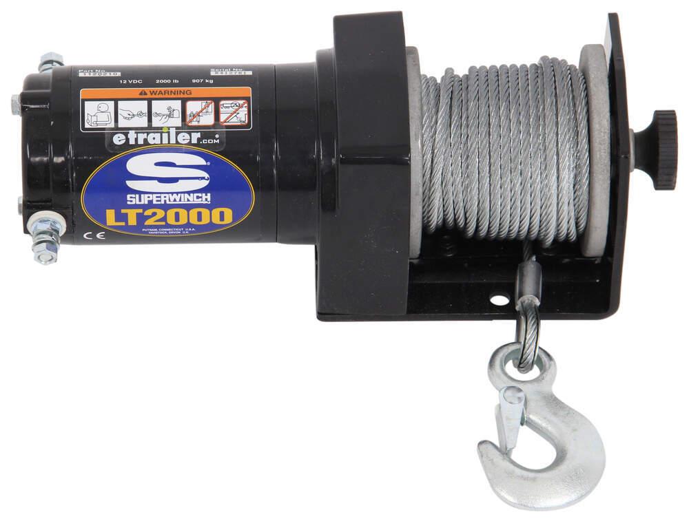 superwinch lt2000 atv winch wire rope roller fairlead. Black Bedroom Furniture Sets. Home Design Ideas