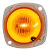 optronics trailer lights clearance submersible glolight m3 led or side marker light - 5 diodes amber lens