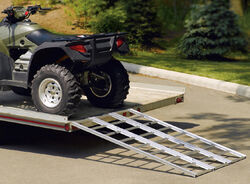 "Highland Tri-Fold Aluminum Loading Ramp - 54"" Wide x 77"" Long"