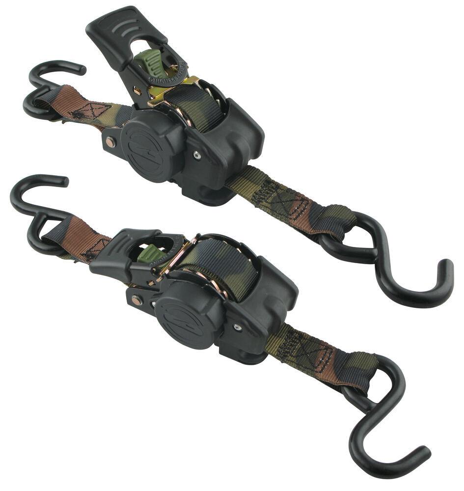 Retractable Ratchet Straps >> Highland Camouflage Retractable Ratchet Straps w/ Push ...