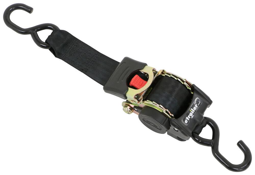 Highland Retractable Ratchet Strap W Push Button Release 2 X 10