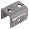 "Front/Rear Hanger for Double-Eye Springs - 1-1/2"" Tall - 9/16"" Bolt Hole"